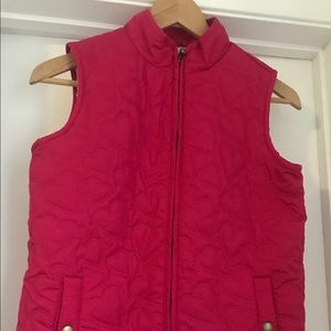 Quilted Vest Pink Gap NWT
